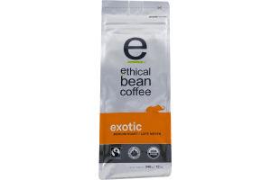Ethical Bean Coffee Whole Bean Arabica Coffee Exotic Medium Roast
