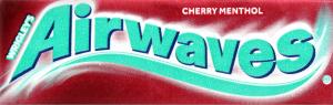 Жувальна гумка без цукру з ароматом вишні та ментолу Airwaves м/у 14г