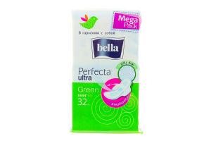 Прокладки гигиенические Green Ultra Perfecta Bella 32шт