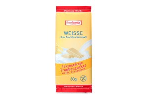 Шоколад білий безлактозний Frankonia м/у 80г