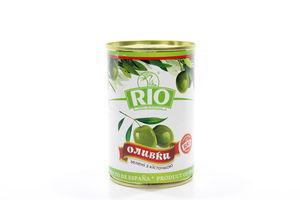 Оливки с косточкой Rio ж/б 300г