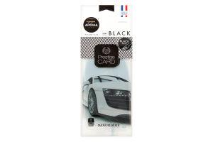 Ароматизатор повітря для автомобіля Black Prestige Card Aroma Car 1шт