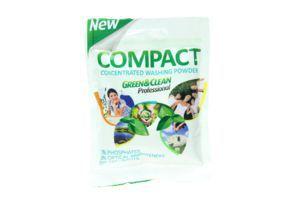 Порошок стиральный универсальный Compact Green&Clean Professional 15х50г