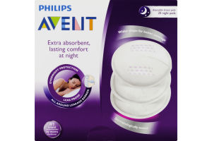Philips Avent Nighttime Disposable Breast Pads - 20 CT