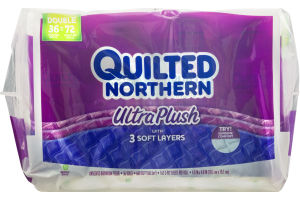 Quilted Northern Ultra Plush Unscented Bathroom Tissue - 36 CT