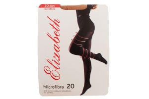 Колготки Elizabeth Microfibra 20 visone Tg.3