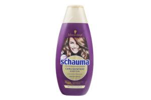 Шампунь для волосся відновлюючий Сила кератину Schauma 400мл