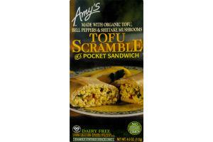 Amy's Tofu Scramble Pocket Sandwich