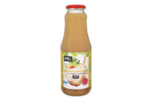 Сік яблучно-грушевий неосвітлений пастеризований Sims Juice с/пл 1л