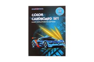 Набір кольорового картону Cool for school CFS А5 10арк CF21002