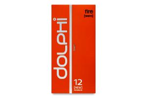 Презервативи анатомічні Fire Dolphi 12шт