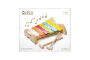 Іграшка дерев'яна Ксилофон LKS-1CUBIKA