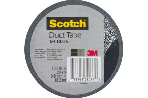 Scotch Duct Tape Jet Black