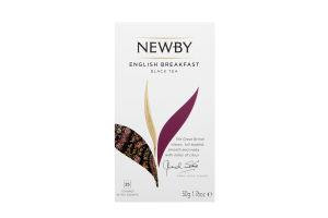 Чай Newby English Breakfast чорний 25*2гр х12