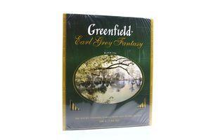 Чай черный с ароматом бергамота Earl Grey Fantasy Greenfield к/у 100х2г