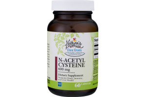 Nature's Promise 600mg N-Acetyl Cysteine - 60 CT