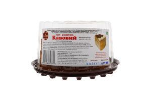 Торт бисквитный Кофейный Солодка Хата п/у 450г