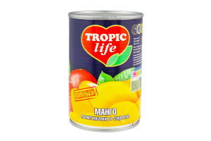 Манго ломтиками Tropic Life ж/б 425г