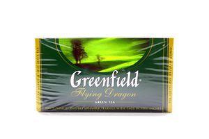 Чай зеленый Flying Dragon Greenfield к/у 25х2г