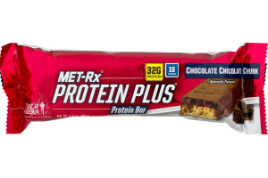 MET-Rx Protein Plus Protein Bar Chocolate Chocolate Chunk