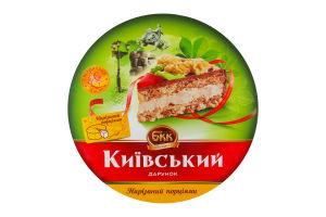 Торт БКК Киевкий Подарок с арахисом нарезанный порциями 0,850 кг
