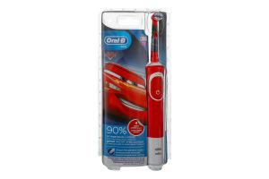 Зубна електрощітка типу 3710 Cars Kids Oral-B Braun 1шт
