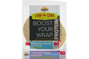 Tumaro's Low-In-Carb Protein Wraps Premium White - 5 CT
