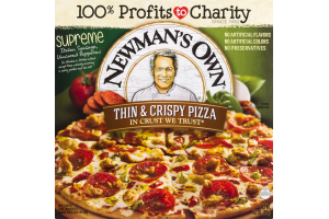 Newman's Own Thin & Crispy Pizza Supreme