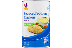 Ahold Reduced Sodium Chicken Broth Fat Free