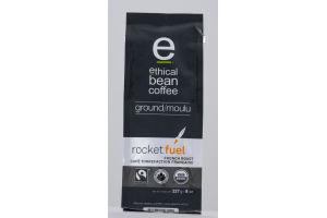 Ethical Bean Coffee Ground Arabica Coffee Rocket Fuel French Roast