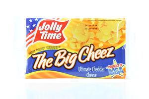 Попкорн со вкусом сыра Чеддер Jolly Time м/у 100г