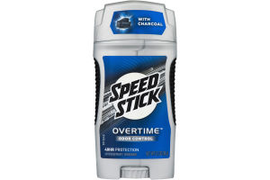 Speed Stick Overtime Antiperspirant Deodorant Odor Control