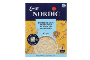 Пластівці вівсяні Nordic к/у 500г