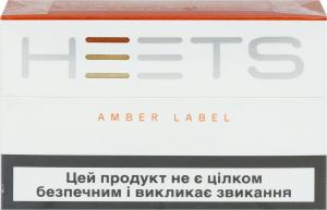 Изделие табачное д/электр нагр Heets Amber