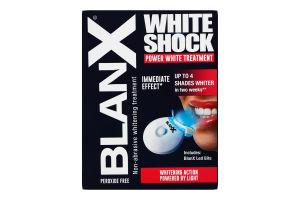 Отбеливающий комплекс для зубов White shock BlanX+активатор LedBite 1шт