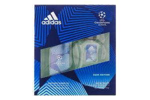 Набір для чоловіків Туалетна вода+гель для душу Uefa Dare Edition 2020 Adidas 1шт
