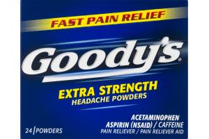 Goody's Extra Strength Headache Powders - 24 CT
