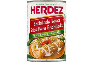 Herdez Enchilada Sauce Green Chili
