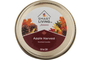 Smart Living Autumn Scented Candle Apple Harvest