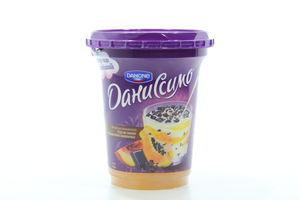 Десерт 5,7% персик-папайя с кусочками шок п/б Даниссимо Danone 340г