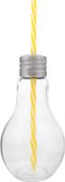 Набір стакан з трубочкою 410мл №850045 Лампа Koopman International 1шт в асорт