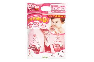 Рідина для миття дитячого посуду Arau Baby 500 мл+Рідина для миття дитячого посуду Arau Baby 450 мл наповнювач (ПРОМО пак)