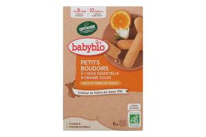 Печиво з цукром для дітей від 8міс Babybio к/у 120г