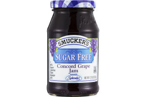 Smucker's Concord Grape Jam Sugar Free