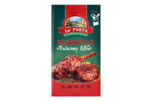 Маринад Майстер BBQ La Pasta м/у 200г