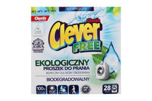 Порошок стиральный Clever Free Clovin 1.68кг
