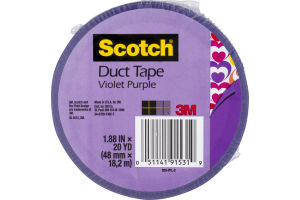 Scotch Duct Tape Violet Purple