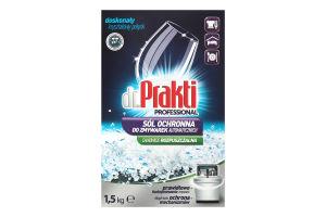 Сіль для посудомийних машин Dr. Prakti 1.5кг