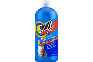 Shout Cats Oxy Urine Destroyer Carpeting & Upholstery