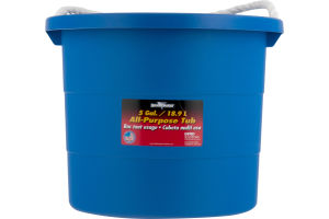 Rough & Rugged All-Purpose Tub Blue - 5 Gallon